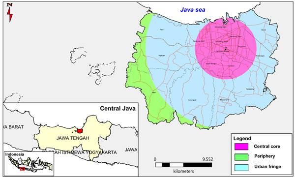 Urban Sprawl Typology in Semarang City | Aprillia | Forum