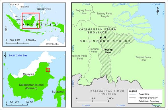 Peta_DaerahPenelitian_Tg_Selor_Arsir