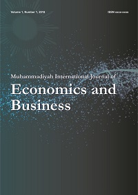 Muhammadiyah International Journal of Economics and Business