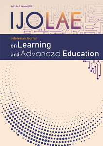 Indonesian Journal on Learning and Advanced Education (IJOLAE)