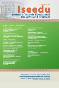 Iseedu: Journal of Islamic Educational Thoughts and Practices