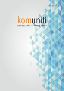 Komuniti Jurnal Komunikasi Dan Teknologi Informasi